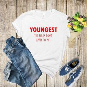 Graphic Tee - Youngest Child